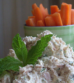Tuna Dip with Carrots